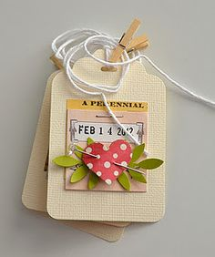 gorgeous tags by Claudia clouds color garden...
