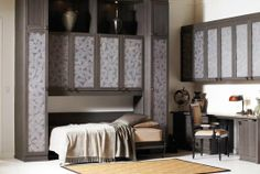 You can transform any space into a guest room or simply maximize space in a bedroom with a stylish, sturdy and comfortable wall bed or authentic Murphy bed from California Closets. California Closets, Wall Bed, Build A Murphy Bed, Bed Design, Bed, Bed Wall, Home Decor, Modern Murphy Beds, Decorate Your Room