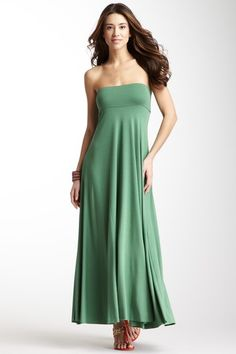 Long Full Skirt on can be worn as a dress.