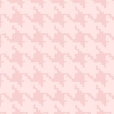 Houndstooth in Coral Pink