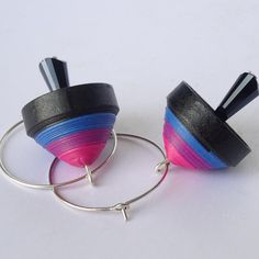 Quilling jhumkas earrings