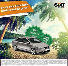 Uzun dönem araç kiralamak isteyenler Temmuz ayı sonuna kadar geçerli olan bu kampanyalarımızı kaçırmayın :) www.sixt.com.tr #sixt #sixtrentacar #sixtturkiye #araçkirala #kiralıkaraç #seat