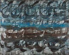 Fereydoon Omidi / Untitled, Oil on canvas, 200x160 cm, 2008 / Courtesy of The Islamic Arts Museum Malaysia