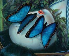 Benjamin Lacombe. Los amantes mariposa