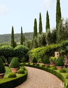 Musician Ned Lambton Restores His Magnificent Tuscan Villa : Architectural Digest... This is truly my dream garden!!!