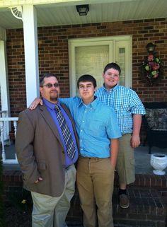 Dale, Brandon and Casey