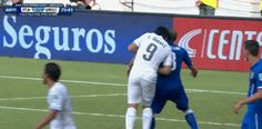 Suarez bites (for the third time): Idiot | #CommentaryBoxSports #WorldCup14 #FIFA14