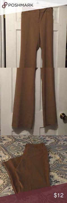 🔴2 for $10🔴 Dressy camel colored pants Dressy slacks Apt. 9 Pants