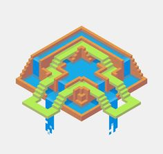 Made in Hexels — kyleyoungblom: Hexel doodling. Wow! Love the...