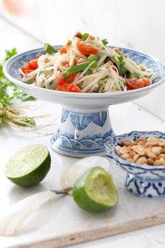 Papaya-Salat (Thailand) I © GUSTO / Ulrike Köb I www.gusto.at