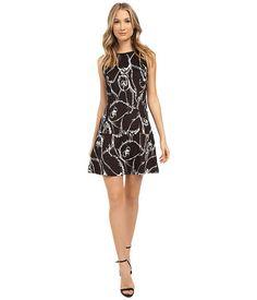 kensie Sketchy Owls Dress KS1K7885