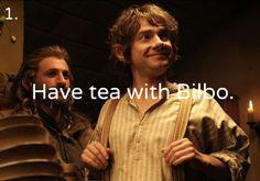 The Tolkien Bucket List