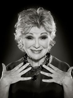 Julie Walters. Getting her groove on in Momma Mia or being a bad ass mom as Molly Weasly. This woman is funny and cool!