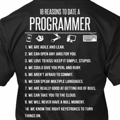 367bae5df1a 10 Reasons to date a Programmer - Biblipole