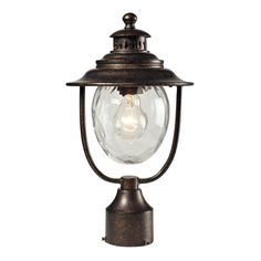 Searsport 1 Light Regal Bronze Post Mount