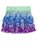 Animal Printed Knit Skirt