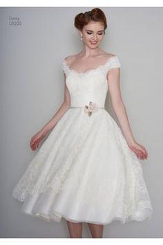 Sexy 1950s Wedding Dresses