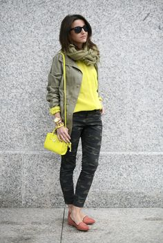 Trendy Mondays Blog: Camo Trend (Alexandra of Lovely Pepa)