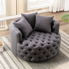 Living Room Chairs, Living Room Furniture, Furniture Decor, Oversized Reading Chair, Bedroom Reading Nooks, Swivel Barrel Chair, Chaise Sofa, Wingback Chair, Home Decor Accessories