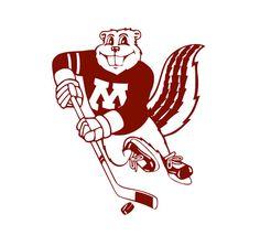 Minnesota Gophers Hockey Decal