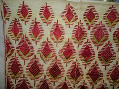 518 Antique Paan Thirma #Phulkari Shawl Timeless Art & Antiques, Accents & Accessories  AVAILABLE on http://wovensouls.com #embroidery #art #asianart #collectibles #textileart #antiquetextiles #antiques #wallart #artforsale #gallery #antiqueindiantextiles #folkart