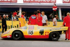 24 heures du Mans 1970 - Porsche 917K #18- Pilotes : David Piper / Gijs van Lennep - Abandon