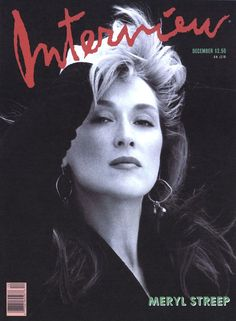 Meryl Streep - Interview Magazine Photography BRIGITTE LACOMBE Published 02/09/12