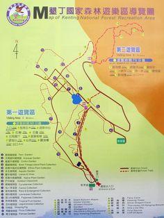 Kenting park map
