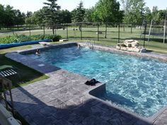 pictures of rectangular pools
