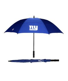 Take a look at this Navy New York Giants Umbrella by NFL by Concept One on @zulily today!