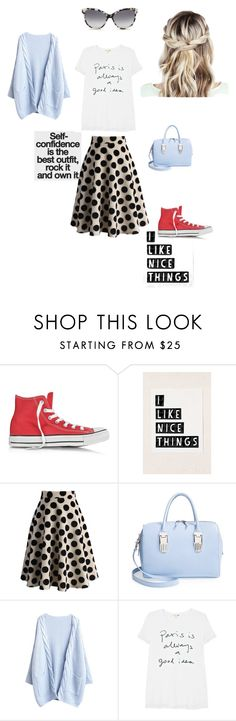 """""""Self confidence"""" by garyandshannon ❤ liked on Polyvore featuring Converse, Urban Outfitters, Chicwish, Opening Ceremony, Sundry and STELLA McCARTNEY"""