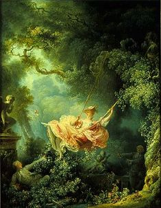 Jean-Honore Fragonard, The Swing, 1767, oil on canvas