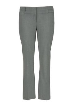 the smart plus size trouser in gray with slimming fit From The Plus Size Fashion Community At www.VintageAndCurvy.com