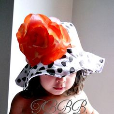 ToddlerInfants+Baby+Girl+Sun+Hat+giraffe+by+TheBabyBellaBoutique,+$19.90