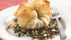 Gorgeous? Yes. Fussy? Not when you make it easy with refrigerated phyllo dough, cooked chicken, frozen asparagus, and other prepared ingredients.