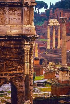 Travel Memory Roman Forum, Rome, Italy - 101 Most Beautiful Places You Must Visit Before You Die! – part 4