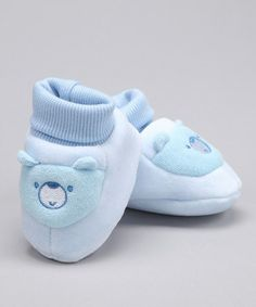 Love this Blue Abby Bear Booties by Abby Bear on #zulily! #zulilyfinds