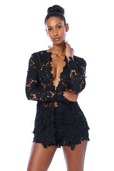 573c48caec6fd Floral Crochet See Much Through Jacket