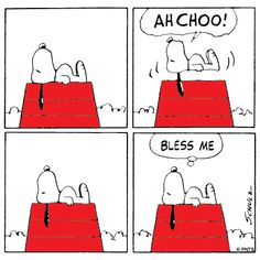 Thursday with Snoopy.