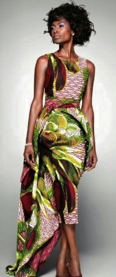 ♡African Fashion Vlisco | 'Delicate Shades' 2011