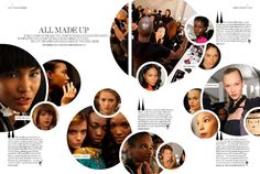 Arise Magazine - NYFW FW 10 Backstage & Beauty Features Backstage AT