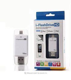 Hot!Lightning flash drive 8gb 16gb 32gb Usb Pen Drive 6 Language Otg Usb Flash Drive For iPhone 5/5s/5c/6/6 Plus/ipad Pendrive #Affiliate