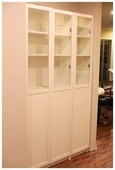 IKEA Hack- Billy Bookcase as Pantry Storage - Run To Radiance -- IN KITCHEN