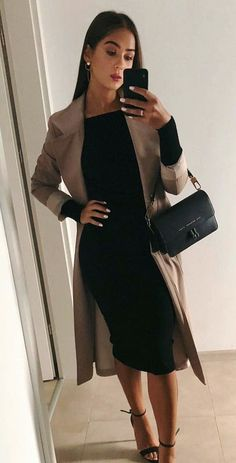 Newest Snap Shots Business Outfit herbst Concepts, Mode Outfits, Chic Outfits, Dress Outfits, Fashion Outfits, Womens Fashion, Fashion Ideas, Blazer Outfits, Dress Fashion, Classy Shorts Outfits