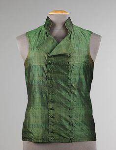 Vest 1810s The Metropolitan Museum of Art