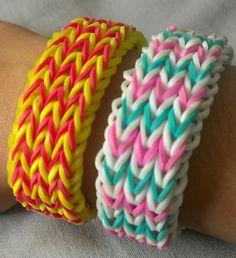 Triple fishtail bracelet (pink teal) (red yellow USC) Fishtail Bracelet, Friendship Bracelets, Teal, Yellow, Pink, Jewelry, Jewlery, Jewerly, Schmuck