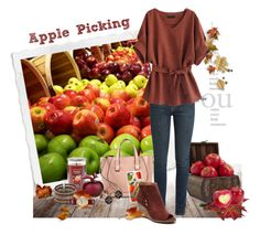 """""""Apple Picking"""" by love-n-laughter ❤ liked on Polyvore featuring Yankee Candle, Lalique, Nearly Natural, Victoria Beckham, Yves Saint Laurent, NAKAMOL, Casetify and Citizen"""