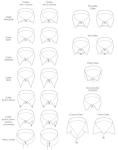Picture-14.png (658×837) collars technical drawing- trazo plano de cuellos