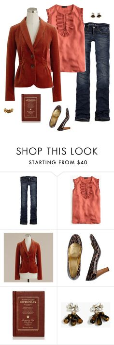 """""""Untitled #4165"""" by shopwithm ❤ liked on Polyvore featuring American Eagle Outfitters and J.Crew"""