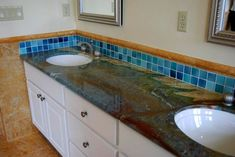 ... Louise Blue Granite Countertops from Austin Stone Works like the stone but not the tile